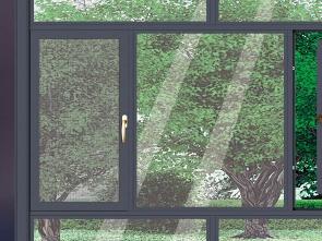 温馨阳光房窗